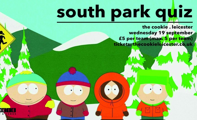 South Park Quiz tickets