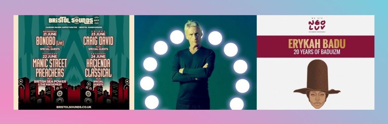 An image for Bristol Sounds // Paul Weller // Erykah Badu // Hola London // Somerset House