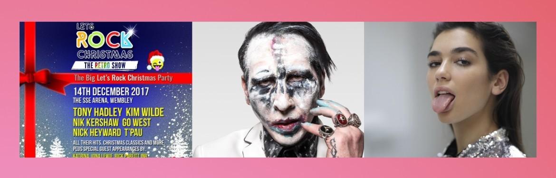 An image for Let's Rock Christmas // Marilyn Manson // Dua Lipa