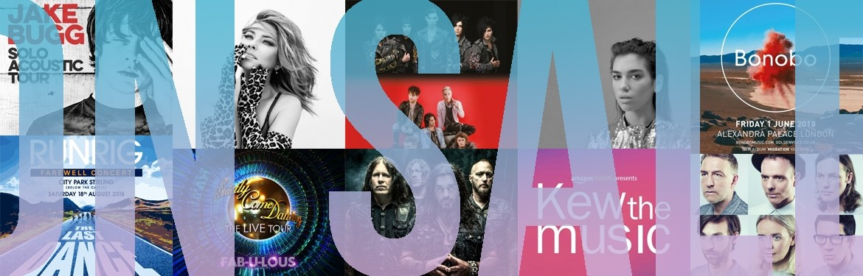 An image for Runrig // Shania Twain // Dua Lipa // Bonobo