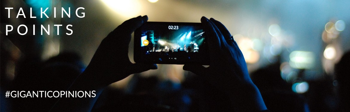 Talking Points - Should Mobile Phones Be Banned From Gigs?