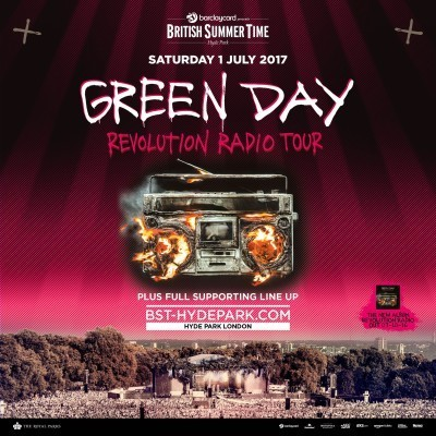 An image for Green Day : Revolution Radio Tour