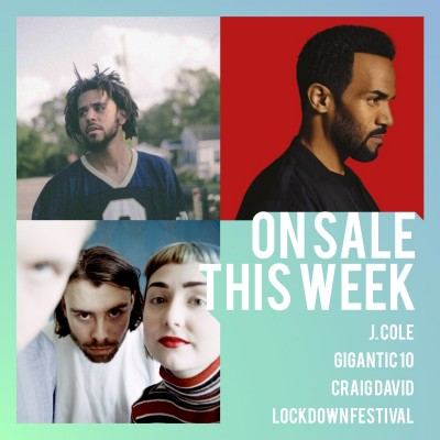 An image for J. Cole // Craig David // gigantic10 // Lockdown Festival