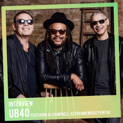 An image for Interview: UB40 featuring Ali Campbell, Astro and Mickey Virtue