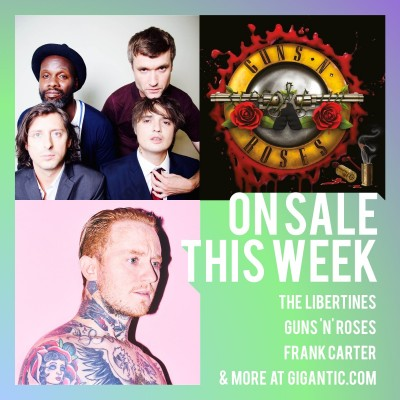 An image for The Libertines // Guns N' Roses // Frank Carter // Mary J Blige