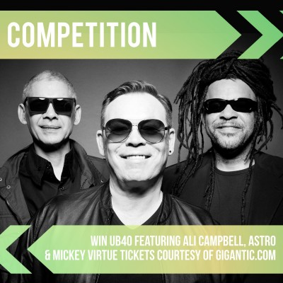 An image for UB40 Featuring Ali Campbell, Astro & Mickey Virtue Competition