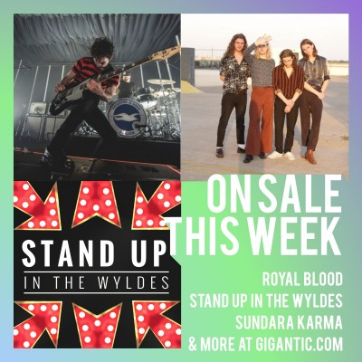 An image for Royal Blood // Stand Up In The Wyldes // Sundara Karma