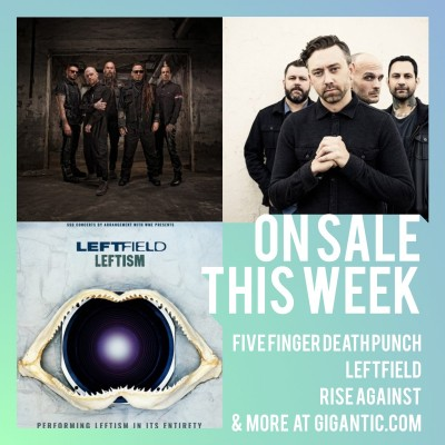 An image for Five Finger Death Punch // Leftfield // Rise Against