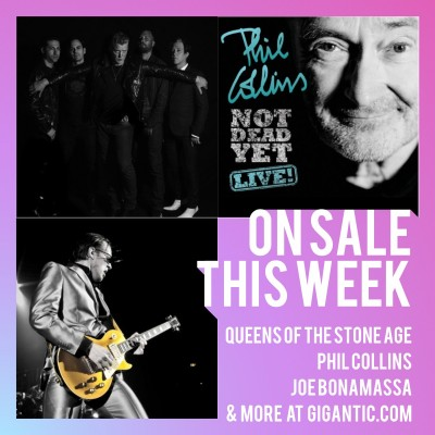 An image for Queens of the Stone Age // Phil Collins // Lockdown Festival // extra Ed Sheeran dates