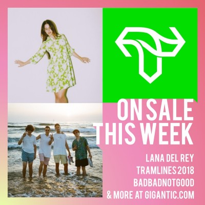 An image for Lana Del Rey // Tramlines 2018 // BADBADNOTGOOD