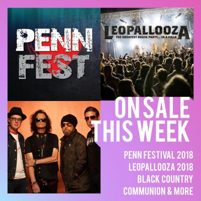 An image for Penn Festival 2018 //  Gloworm 2017 // Black Country Communion