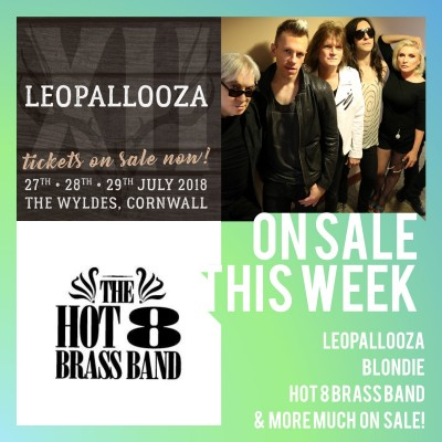 An image for Leopallooza // Blondie // Hot 8 Brass Band // Mighty Oaks