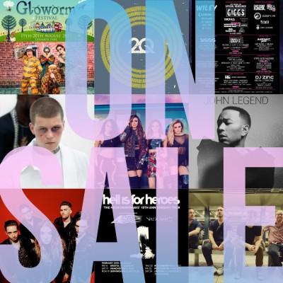 An image for Lockdown Festival // Gloworm Festival // Yung Lean // John Legend
