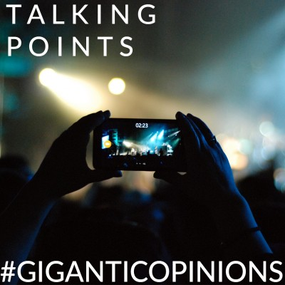 An image for Talking Points - Should Mobile Phones Be Banned From Gigs?