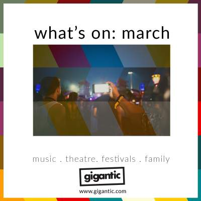 An image for What's On: March