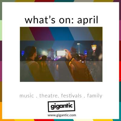 An image for What's On: April