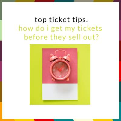 An image for An Insider's Guide To Getting Tickets