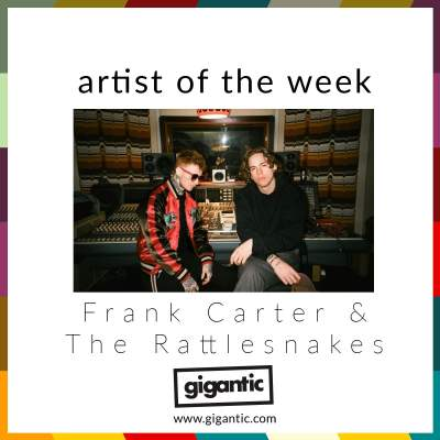 An image for AOTW // Frank Carter & The Rattlesnakes