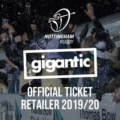 An image for Gigantic team up with Nottingham Rugby.