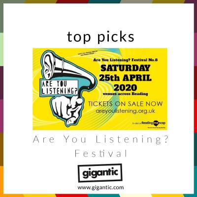 An image for Are You Listening? Festival - Top Picks!