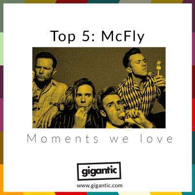 An image for Top 5: Mcfly Moments We Love