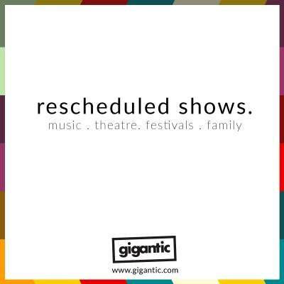 An image for Rescheduled Shows