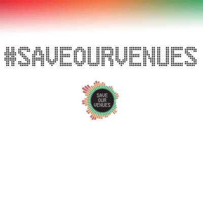 An image for #SaveOurVenues
