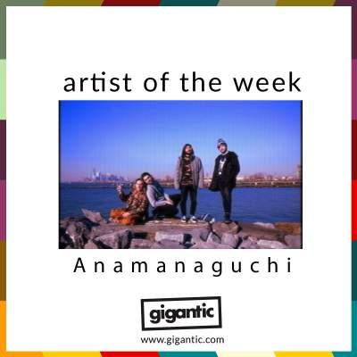 An image for AOTW // Anamanaguchi