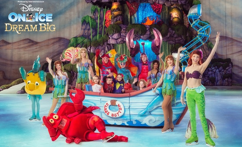 An image for Win a VIP family ticket to Disney On Ice presents Dream Big