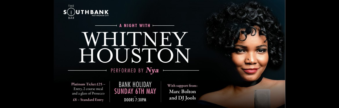 A Night With Whitney Houston  tickets