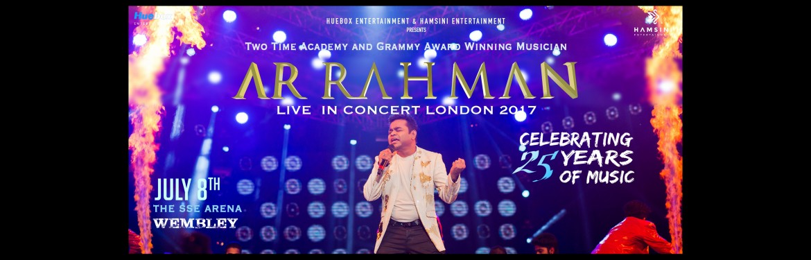 A R Rahman tickets