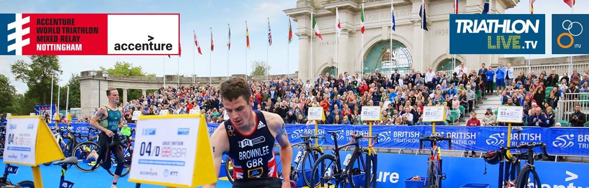 Accenture World Triathlon Mixed Relay Nottingham tickets