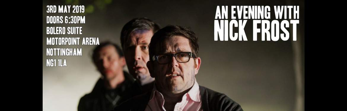 An Evening with Nick Frost tickets