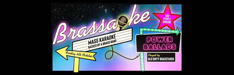 Brassaoke tickets