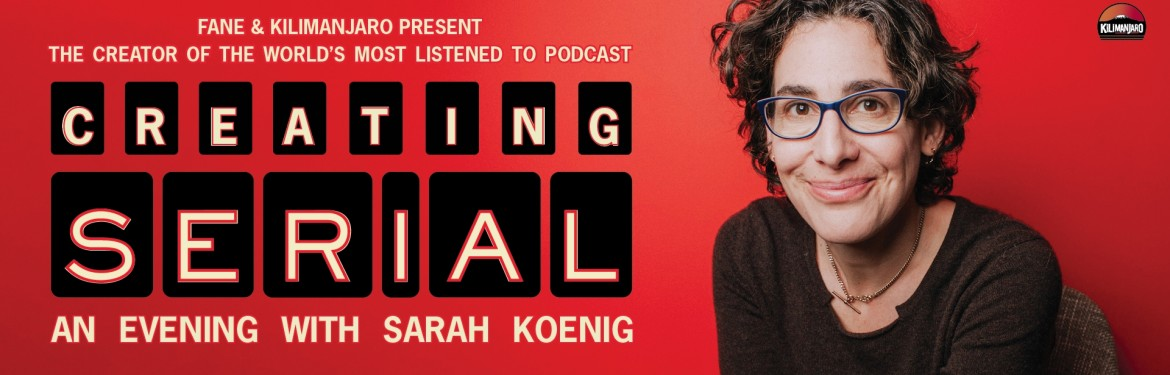 Creating Serial: An Evening with Sarah Koenig tickets