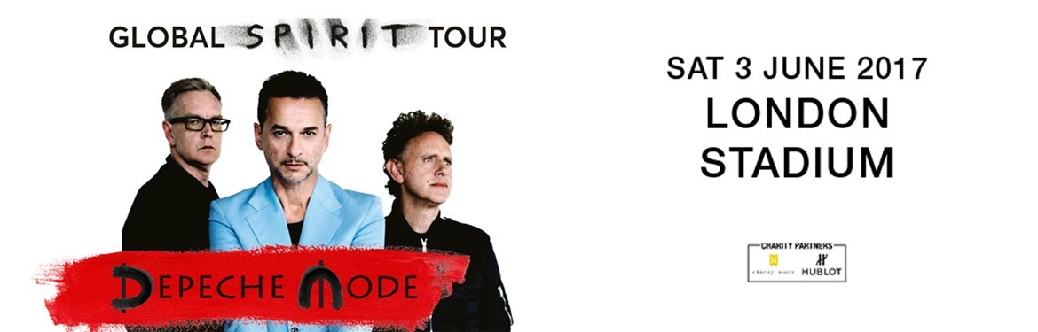 depeche mode tickets the london stadium london 03 06 2017 15 30. Black Bedroom Furniture Sets. Home Design Ideas