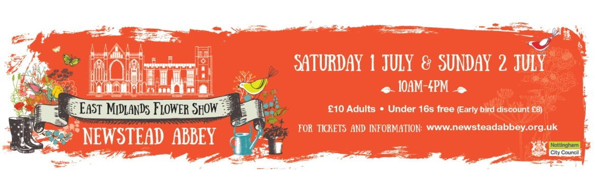 East Midlands Flower Show tickets