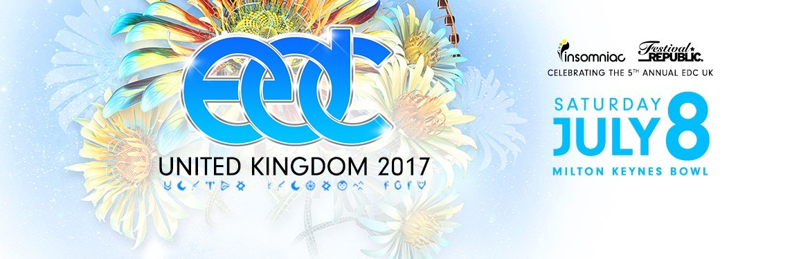 Electric Daisy Carnival UK tickets