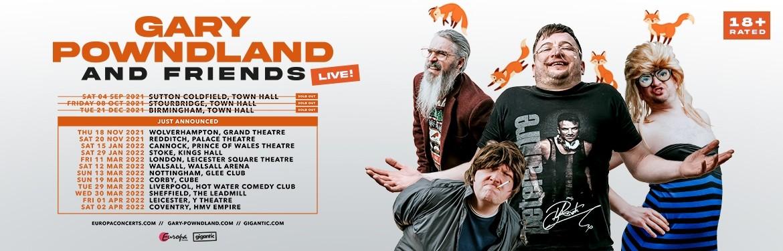 Gary Powndland & Friends tickets