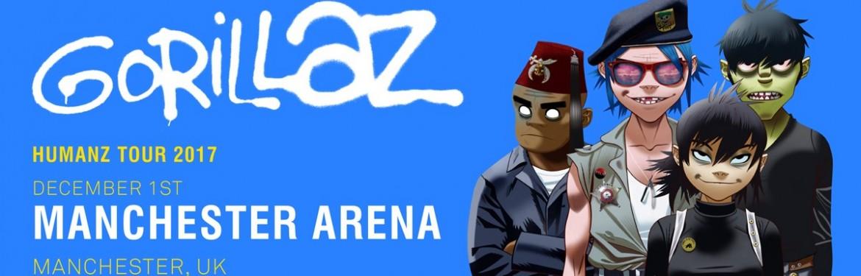 Gorillaz tickets