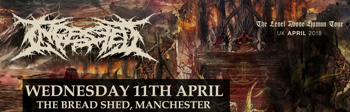 Ingested, The Level Above Human Tour tickets