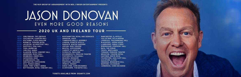 Jason Donovan tickets