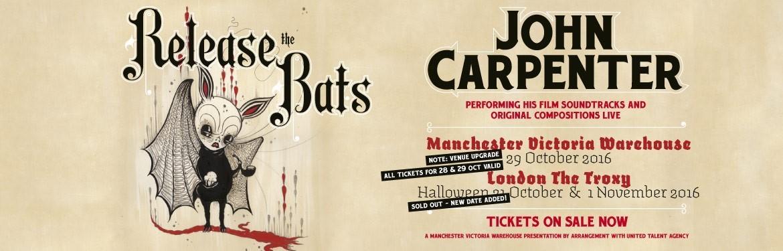 John Carpenter tickets