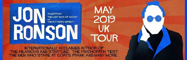 Jon Ronson  tickets