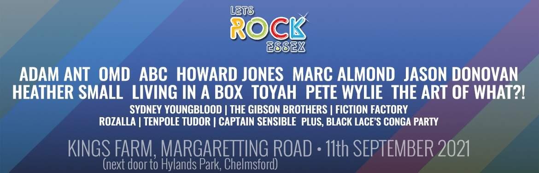 Let's Rock Essex tickets