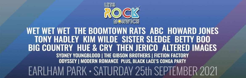 Let's Rock Norwich tickets