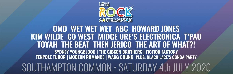 Let's Rock Southampton! tickets