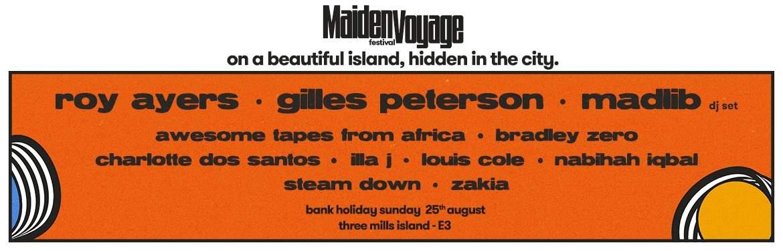 Maiden Voyage Festival tickets