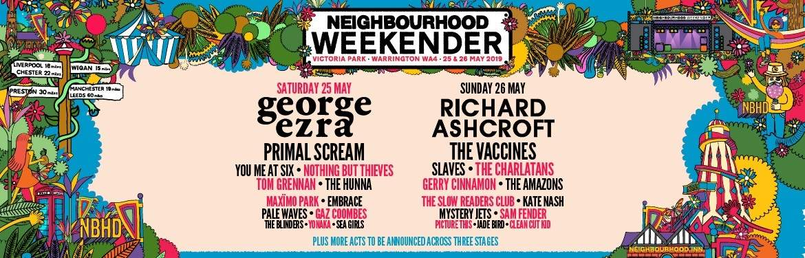 NEIGHBOURHOOD WEEKENDER