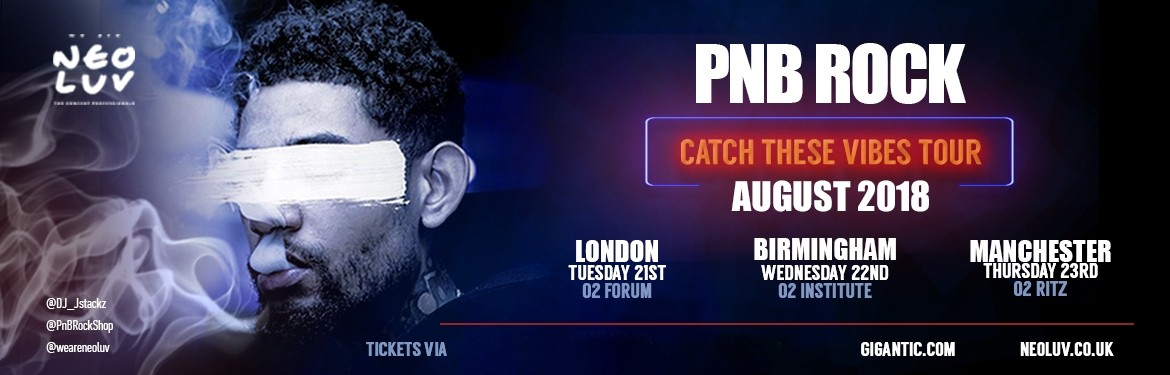 PNB Rock tickets